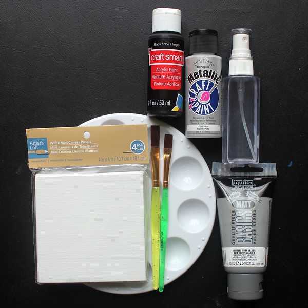 Starry Sky Paintings - Supplies