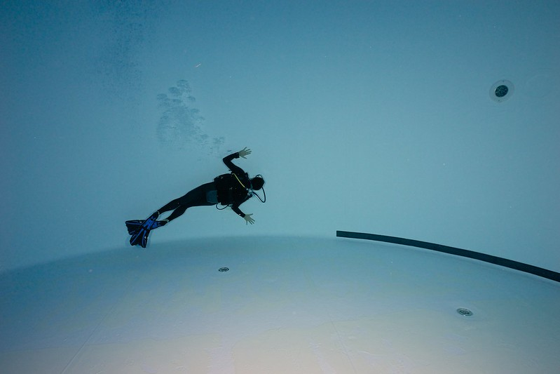 Indoor Diving avec le 15 mm Nikonos 15744075746_4dc786d608_c