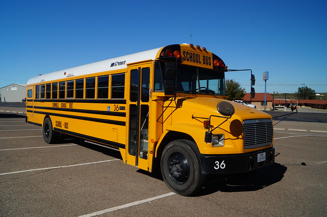 Seminole ISD Freightliner/Crown by Carpenter School Bus #36