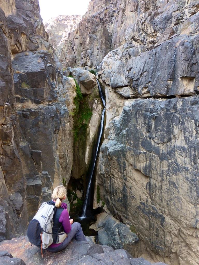 Rockin' overlooking upper falls