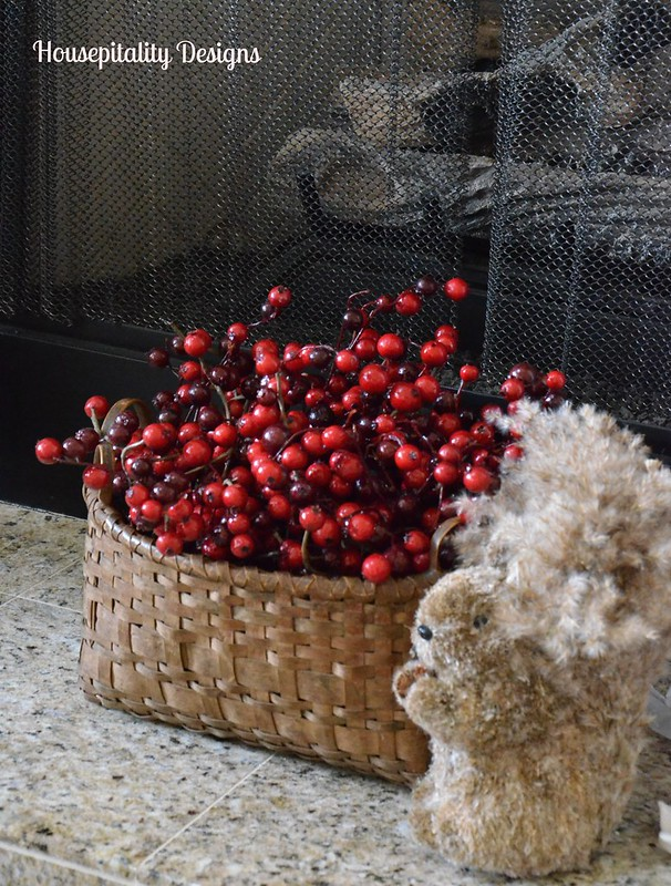 Antique Basket of Berries-Housepitality Designs