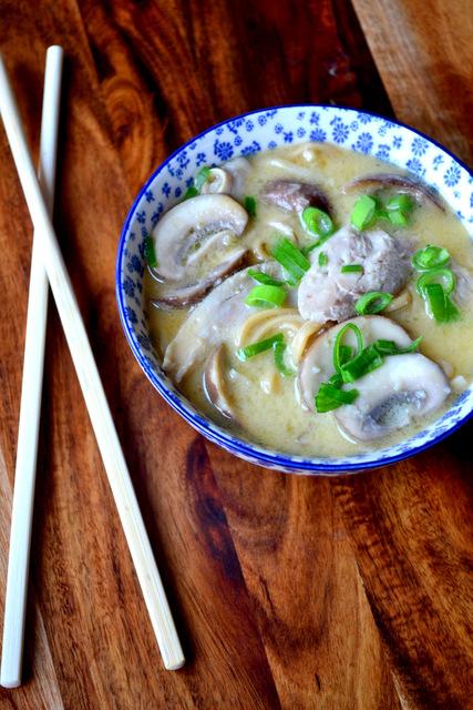 How to Make Tom Kha Gai