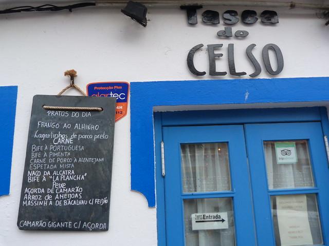 Tasca do Celso (Vila Nova de Milfontes, Costa Alentejo, Portugal)