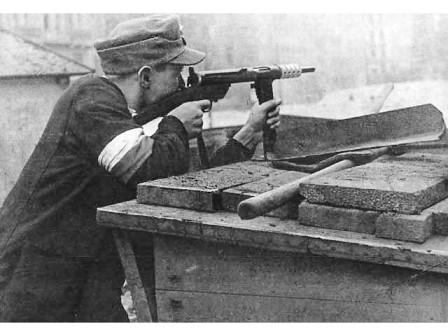 Miembro de la resistencia polaca