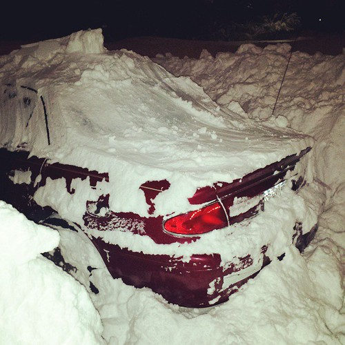 My car, right now. #Snowmageddon #wny #OrchardPark