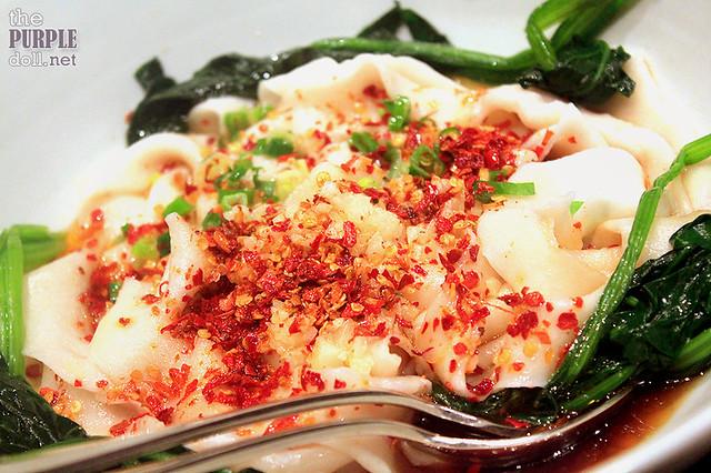 Handmade Flat Noodles, Chilli (MOP 90)