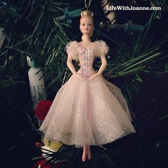 This was a gift from a dance student when I had my dance studio in NYC. #ballerina #barbie #Christmas #ornaments
