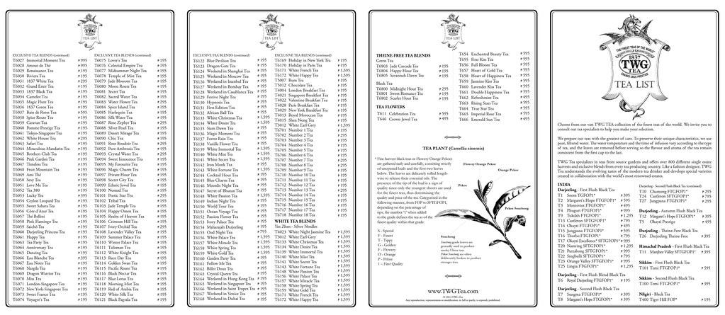 Twg Tea Anniversary Treats Celebrating Two Years Of Twg