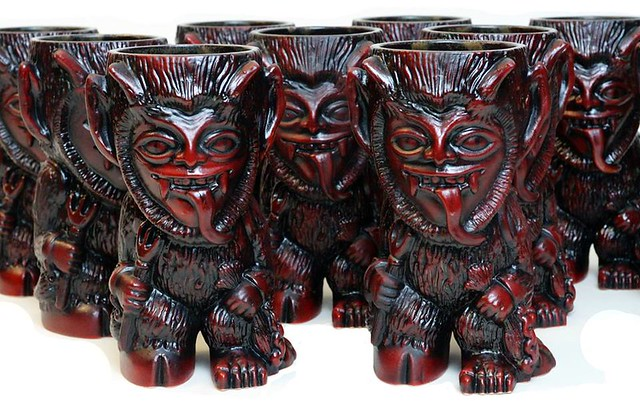 Krampus mugs by Munktiki