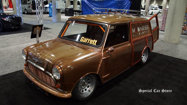 1967 Morris Mini Traveller custom by Madness Autoworks