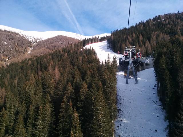 Kabinenbahn Stiergarten, Sextner Dolomiten