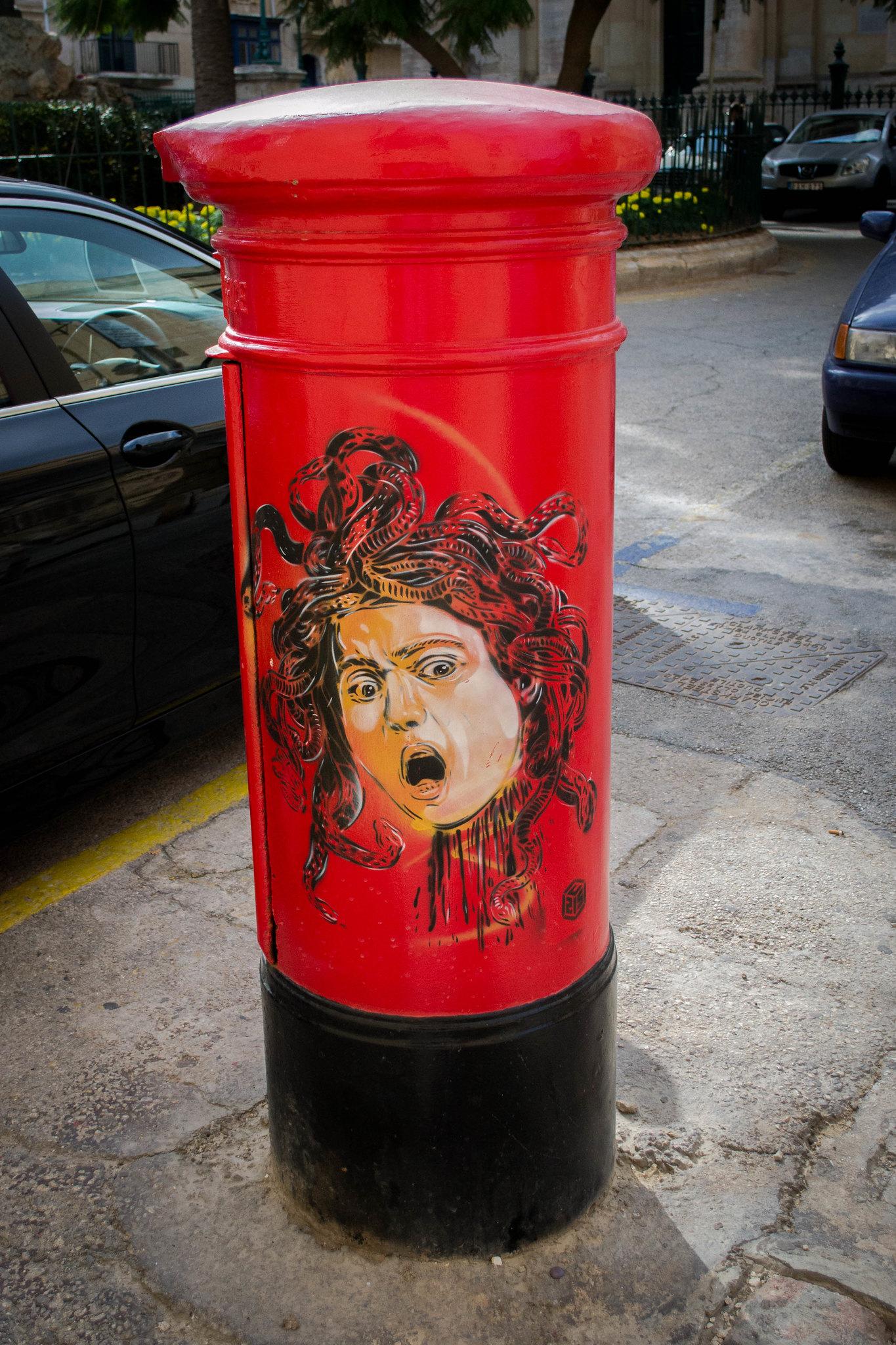 Valletta Postbox