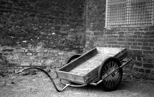 Cart, Landskrona Citadel | by kmether