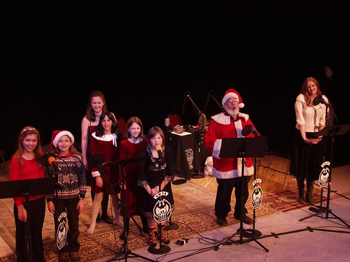 The cast of 'The Santa Claus Blues'