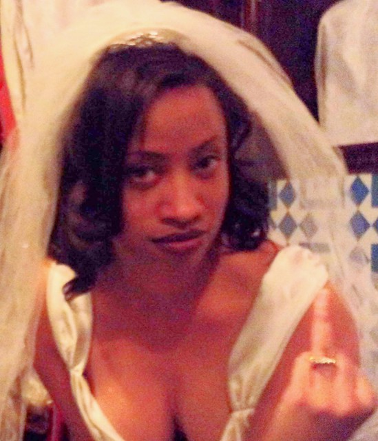 pissed off ex-bride