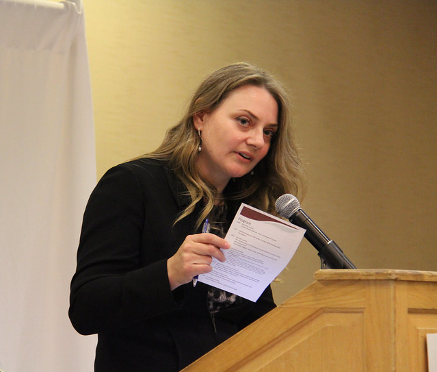 ILRI board member Suzanne Petersen at the Borlaug Symposium