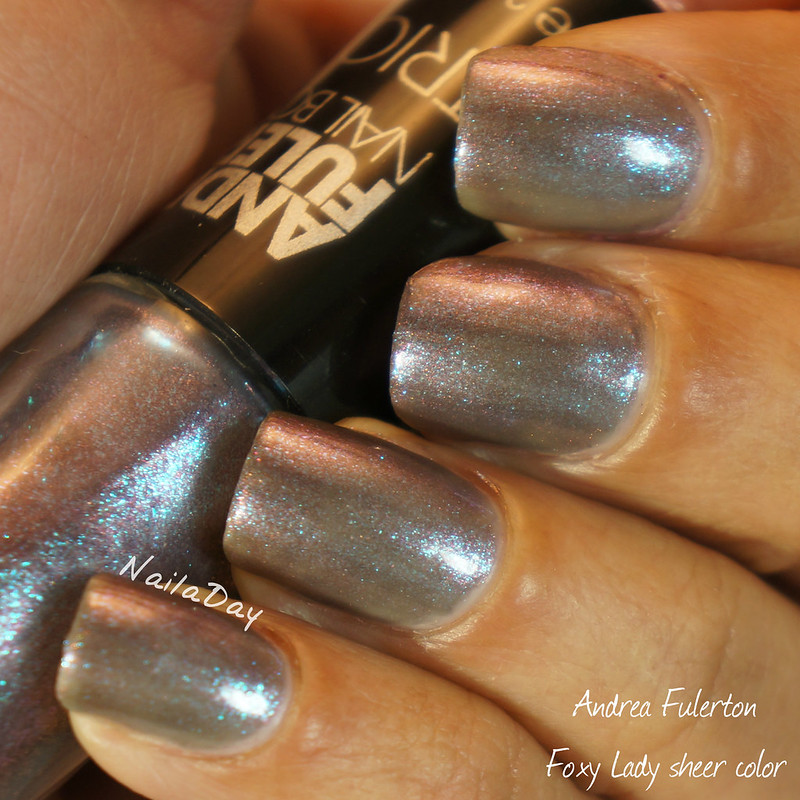 NailaDay: Andrea Fulerton Foxy Lady trio