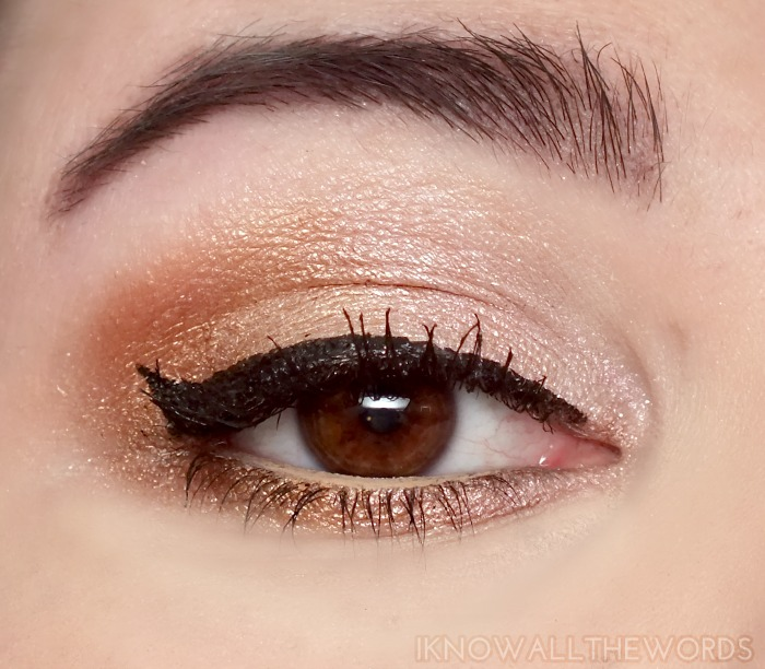 mark eye dream of glam ultimate eyeshadow palette look