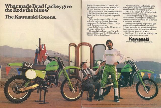 Brad Lackey Kawasaki