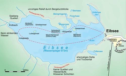 Eibsee Rundweg