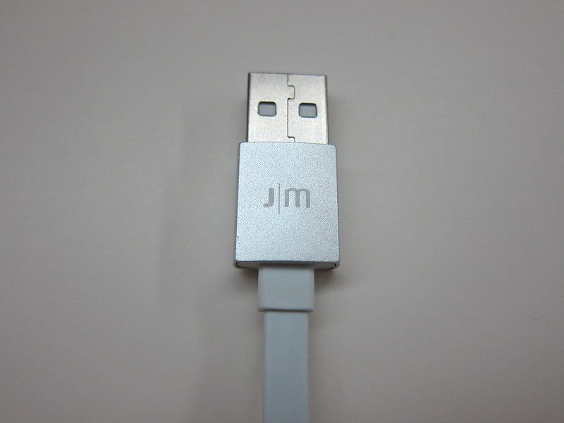 Just Mobile AluCable Flat Mini - USB End