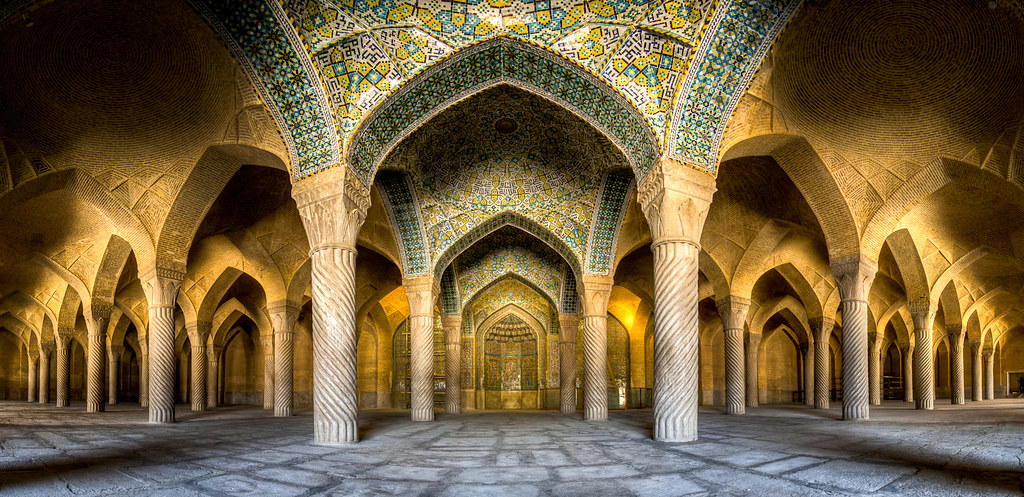 Vakil mosque, photo by Mohammad Reza Domiri Ganji