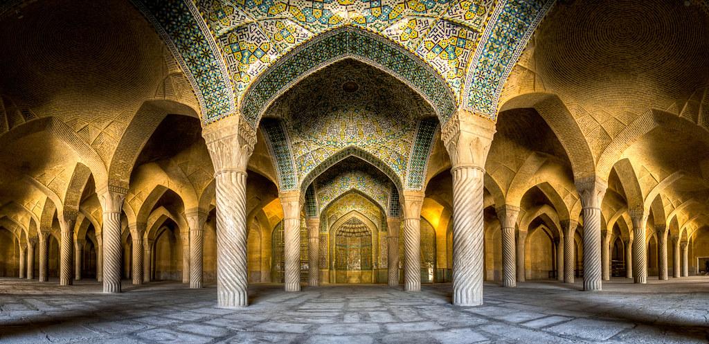 Vakil mosque, photo by Mohammad Reza Domiri Ganji