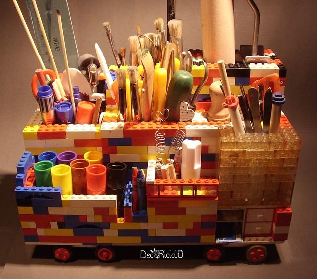 portaoggetti LEGO 2