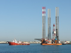 port, vehicle, ship, sea, jackup rig, offshore drilling, watercraft,
