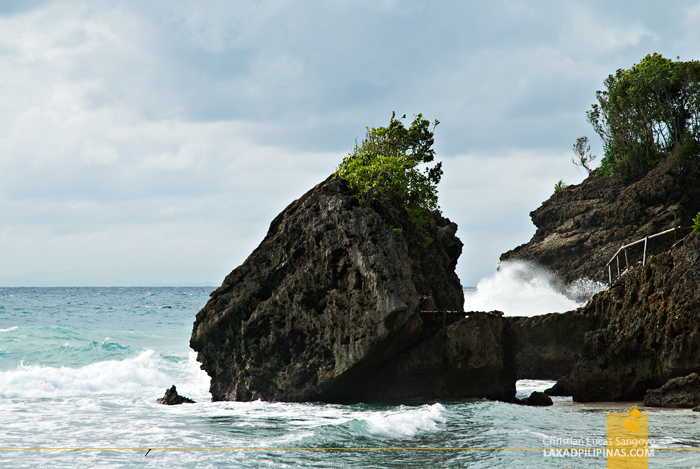 Rock Formations at Guisi Beach in Guimaras
