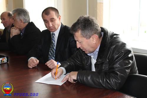Конференция Волынской областной организации Партии Пенсионеров Украины - Луцк 16.12.2014 г (7)