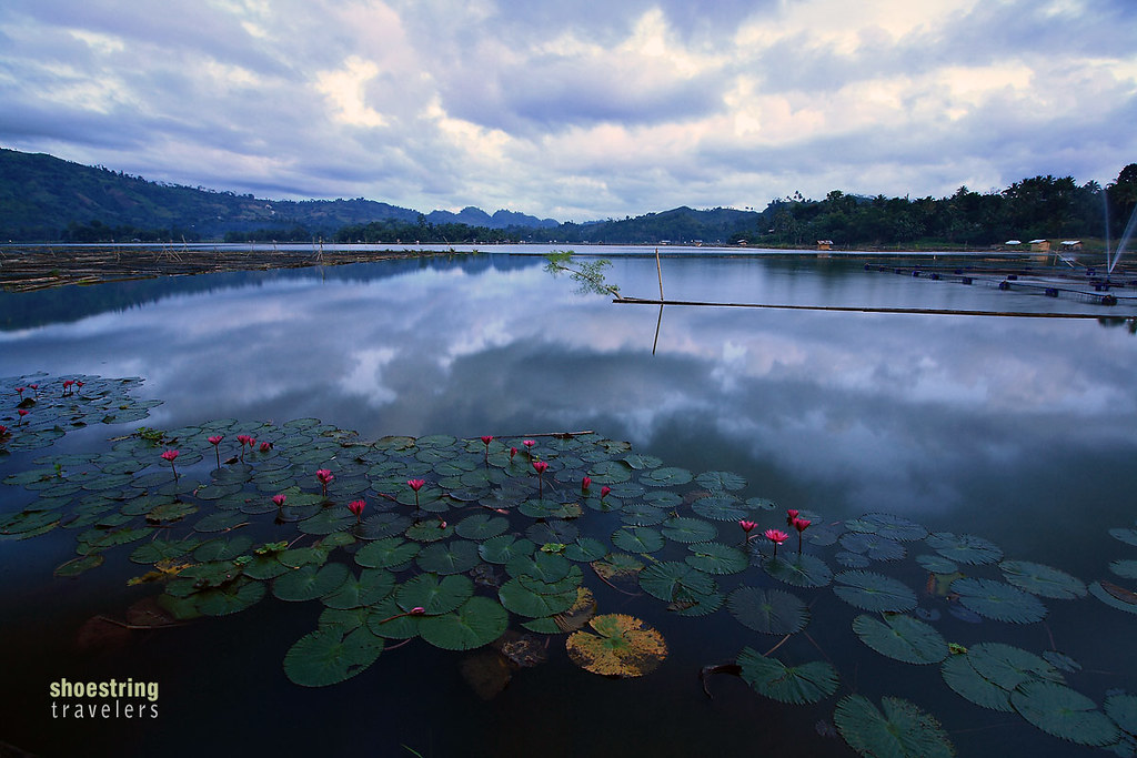 early morning view of Lake Sebu from Estares Lake Resort