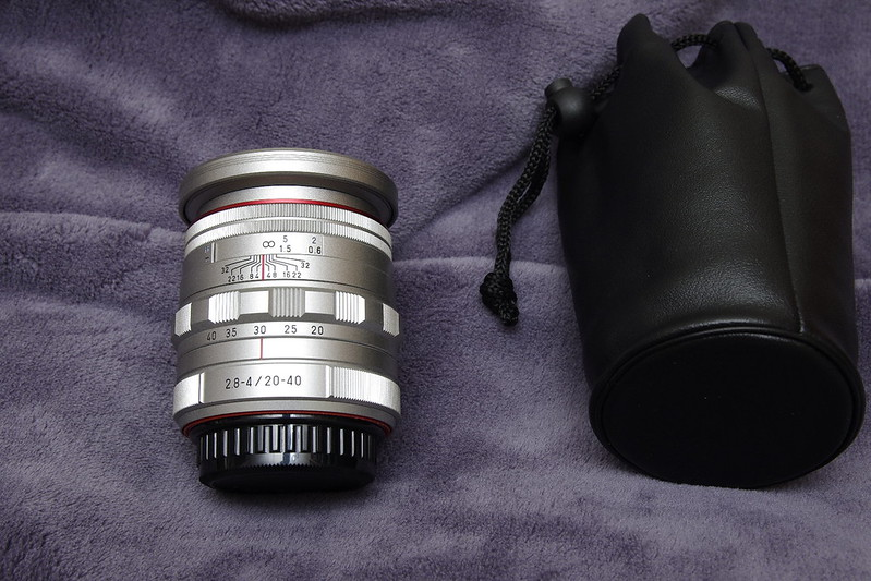 k3 silver edition and HD DA 20-40 silver