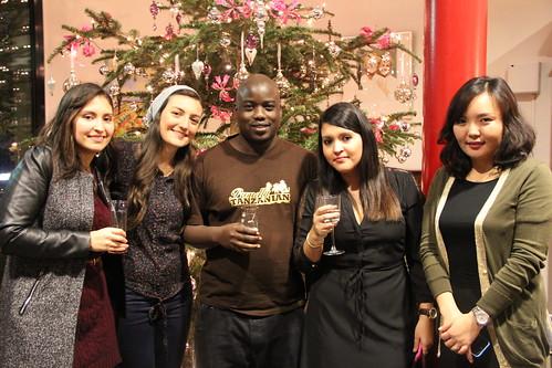 Christmas gathering MBA31 students