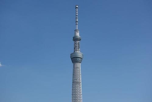 "TOKYO SKYTREE_2 ""東京スカイツリー"" の写真。 遠方からの撮影。"