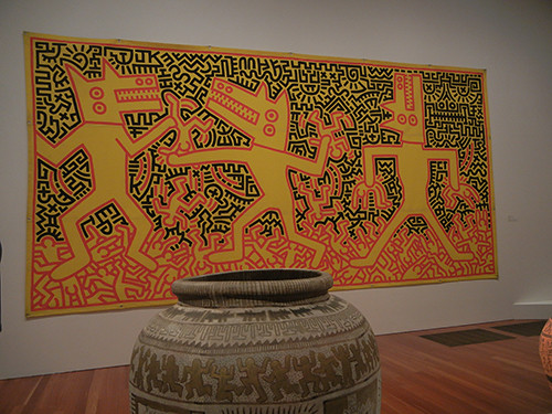DSCN9699 _ Keith Haring The Political Line, De Young, 27 Dec 14