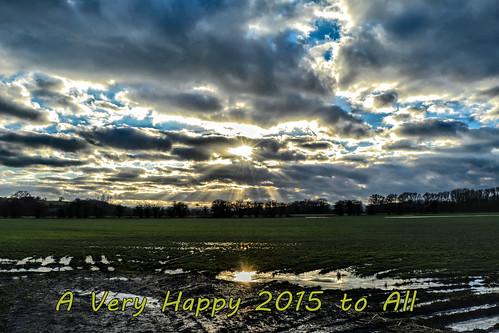 uk sky nikon skies thankyou rays sunbeam crepuscularrays happynewyear 2015 d7100 nikonafsdxzoomnikkor1855mmf3556gedii