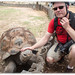 Meeting a Galapagos Tortoise by Craig Jewell Photography