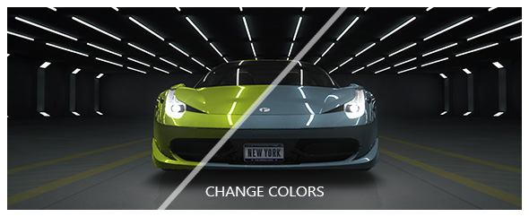 how to change logo on car