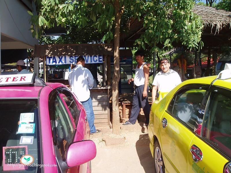 Тайланд, на такси из Камбоджи в БКК