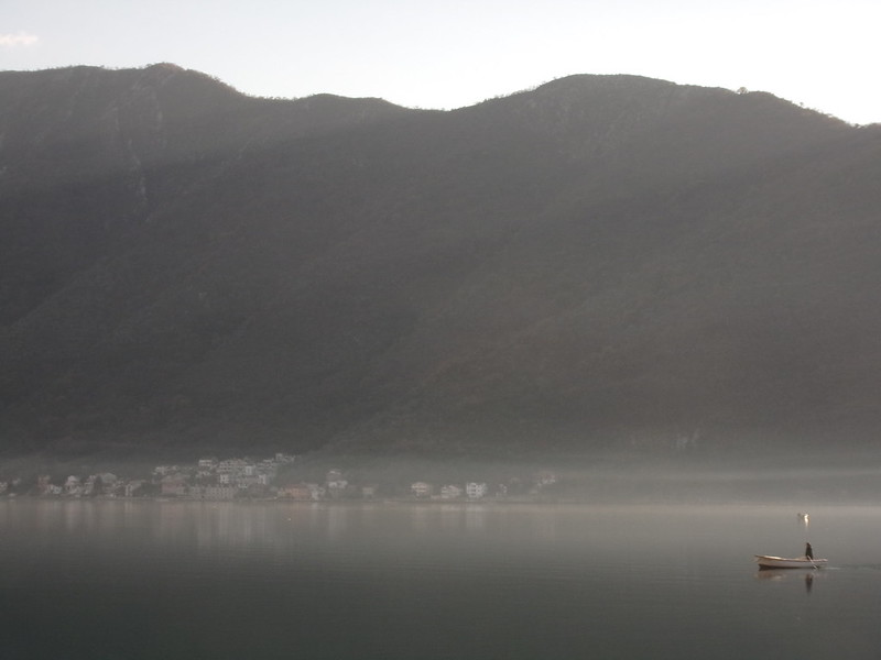 Mist in Kotor Bay