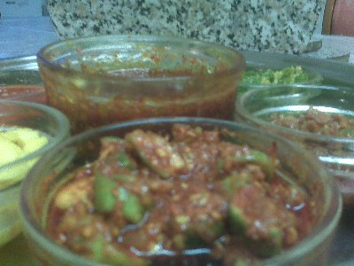 Gujarati Pickles