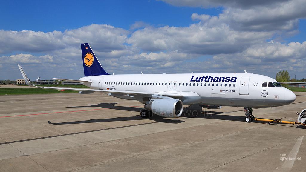D-AIUU - A320 - Lufthansa
