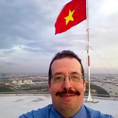 Bitexco helipad selfie
