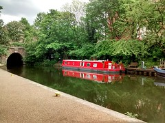 London Canal Boat