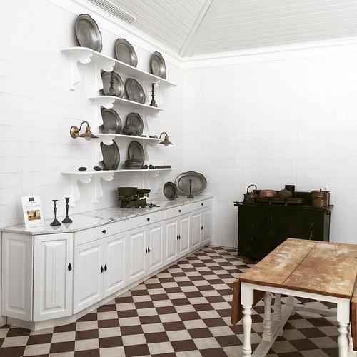 La cocina antigua de la casa #casadainsua #portugal
