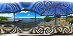 Fishing from the piers at Westloch Shoreline Park, Ewa Beach, O'ahu, Hawai'i...a 360° Equirectangular VR