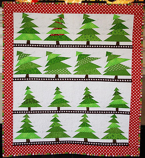 The Tree Lot Mini Quilt