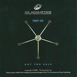 YG Acoustic Test CD