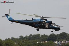 7353 - 087353 - Czech Air Force - Mil MI-24V Hind - Fairford RIAT 2006 - Steven Gray - CRW_1466